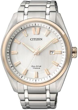 CITIZEN Relojes Superitanio 1240 Unisex Eco-Drive - AW1244-56A