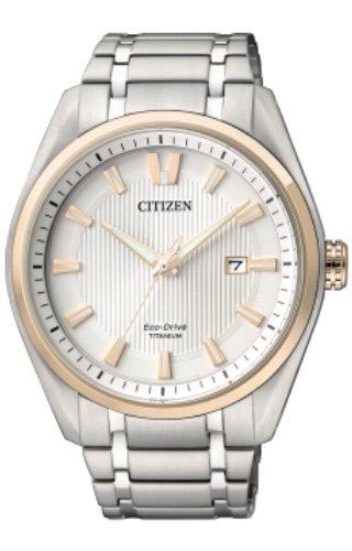 Citizen Relojes Super Titanio 1240 Unisex de Eco Drive - aw1244 - 56 A: Amazon.es: Relojes