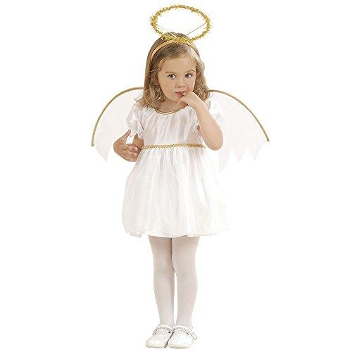 Widmann Traje de ángel para Niñas Blanco 1-3 años (98 cm)