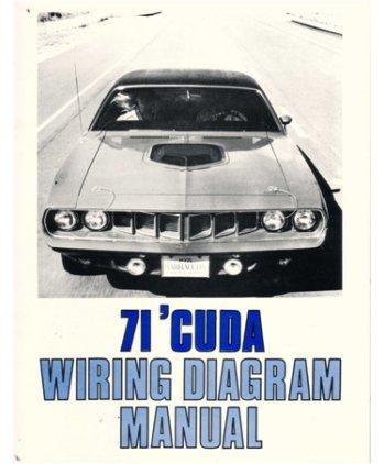 amazon com 1971 plymouth barracuda wiring diagrams  1966 barracuda wiring harness wiring