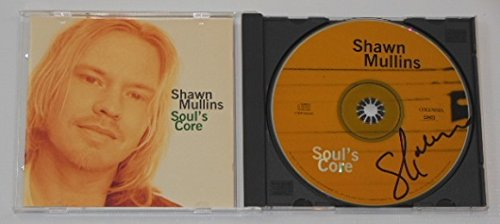 Shawn Mullins Soul's Core Signed Autographed Music Cd Compact Disc Loa