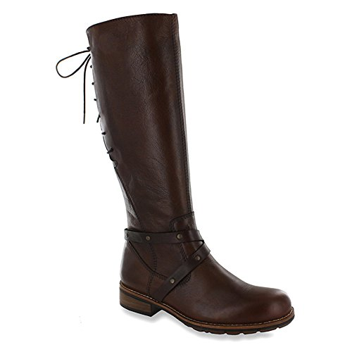 Wolky Long boots 4433 Belmore, Cognac - Velvet Leather, Size - 38 by Wolky (Image #1)