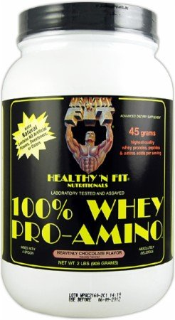 Healthy'N Fit Nutritionals Whey Pro-Amino Heavenly Chocolate — 2 lbs For Sale