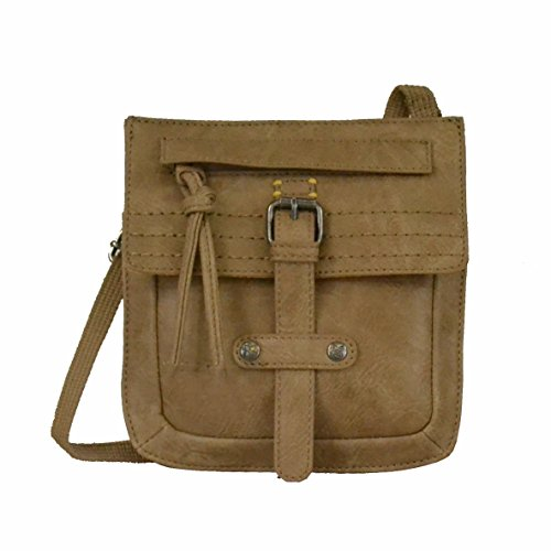Sherpani Piper Mini Cross Body Bag, Eco Leather Tan, One Size