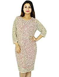 Casual Party Dress Short Length Women New Evening Fashion Tunic