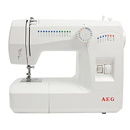 AEG 40 Automatic Utility Sewing Machine With LCD Sewing Guide Mesmerizing Aeg Sewing Machines Uk