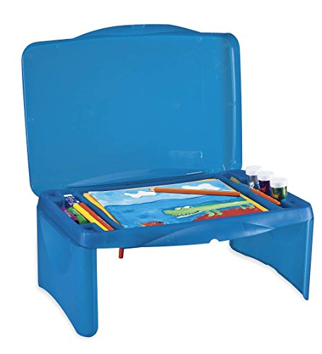 - Collapsible Folding Lap Desk, in Blue