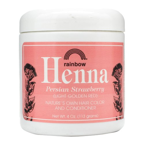 Rainbow Research Henna Hair Color and Conditioner Persian Strawberry, 4 Ounce (Henna Hair Color Red compare prices)