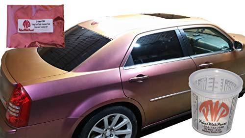 (Orange Violet Purple Chameleon Paint Pearls - Color Shift Paint Pigment Dry Custom Paint Powder)