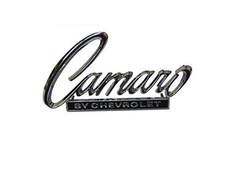 Golden Star Auto EM01-685 Camaro By Chevrolet Header Panel/Truck Lid Emblem