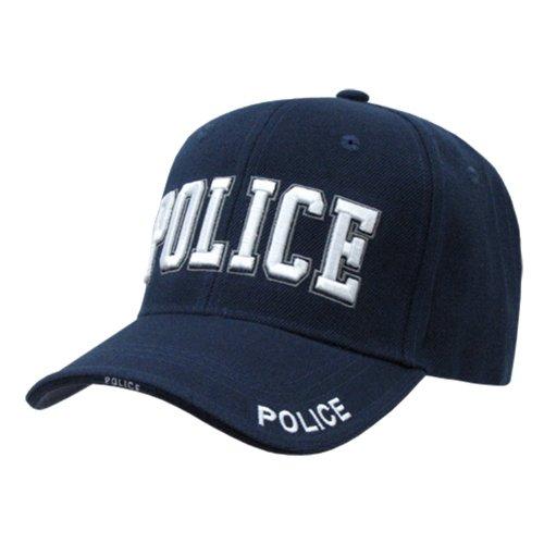 9489Deluxe Navy Blue Police  Hat (Adj.)