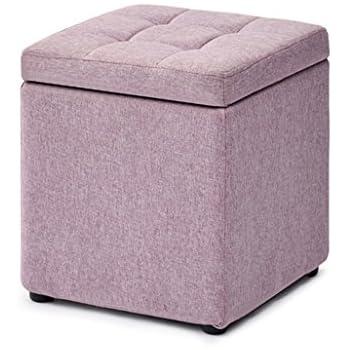 Excellent Amazon Com Foot Stool Storage Box Cube Pouffe Chair Stool Creativecarmelina Interior Chair Design Creativecarmelinacom