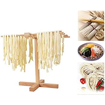 Amazon.com: Weston bambú Pasta Drying Rack: Kitchen & Dining