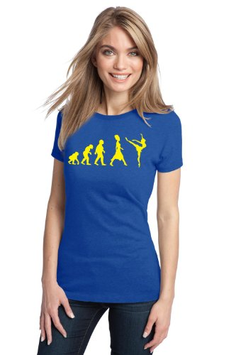 EVOLUTION OF A DANCER Ladies' T-shirt / Funny, Cute Dance Tee Shirt