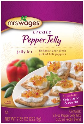 Mrs. Wages® Pepper Jelly Kit, 7.85-Ounce (Pack of 6) by Mrs. Wages