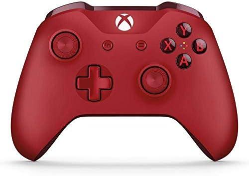 Microsoft - Mando Inalámbrico, Color Rojo (Xbox One), Bluetooth: Microsoft: Amazon.es: Videojuegos