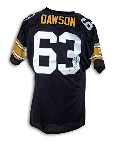 Dermontti Dawson Pittsburgh Steelers Autographed Throwback Jersey - Certified Authentic Signature