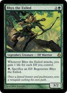 Magic: the Gathering - Rhys the Exiled - Morningtide