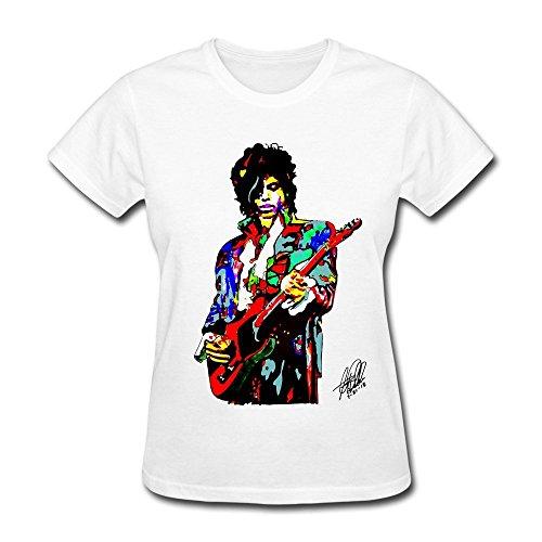 Women's Prince Color guitar illustration