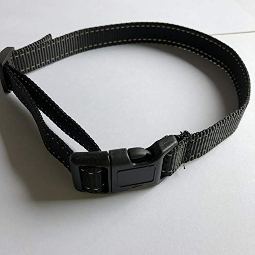 TEPNICAL Adjustable Nylon Collar for Dogs with 0.39-7.08 Inch Diameter ()