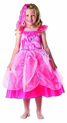 [Pinkie Pie Princess Dress Girls Costume Medium My Little Pony Fancy Dress] (Full Costumes Uk)