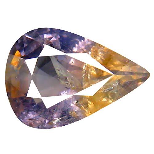 - 2.81 ct Pear Cut (10 x 7 mm) Unheated/Untreated Blue Sapphire Natural Genuine Loose Gemstone