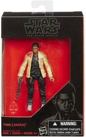 Star Wars, 2015 The Black Series Finn [Jakku] Exclusive Action Figure, 3.75 Inches