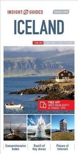 Insight Guides Travel Map Iceland (Insight Travel Maps)...