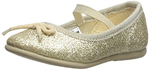 carters Ruby2 Ballet Flat (ToddlerLittle Kid) Gold 7 M US Toddler