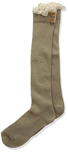 Jefferies Socks Girls Lace Buttons product image