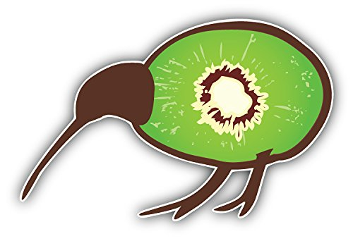 - Kiwi Bird Art Decor Bumper Sticker 5'' x 3''