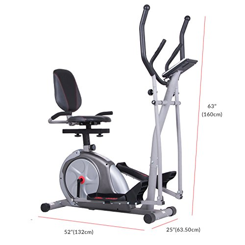 Body Rider 3-in-1 Trio-Trainer / Elliptical, Upright