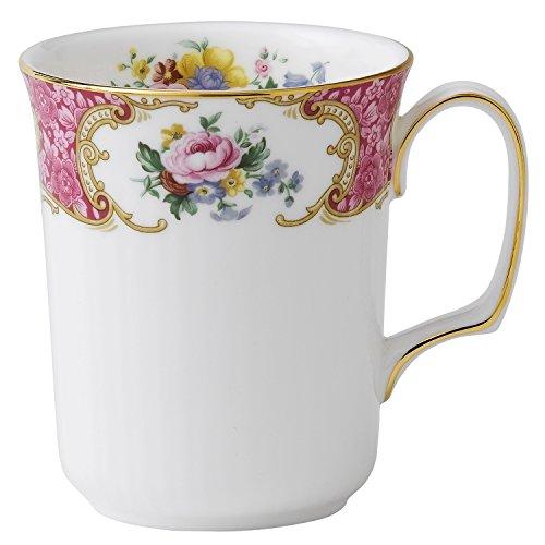 (Royal Albert Lady Carlyle Bone China Beaker Mugs)