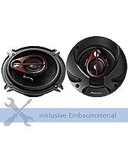 Pioneer luidspreker TS-R1350S 250 Watt 130 mm 3-weg coax voor BMW Z3 1996-2003 voetruimte voorzijde