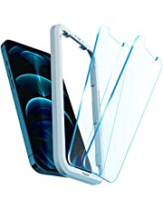 Spigen AlignMaster Tempered Glass Screen Protector for iPhone 12 Pro Max - 2 Pack