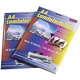 FILUX Laminierfolientaschen A3, 303 x 426mm, 2x 75/80 mic, Hochglanz, 50 Stk. / Sonderposten - solange der Vorrat reicht!!