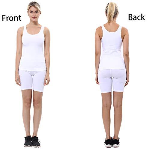 4a6f996542df unilane Women Cami Shaper Tank Top Compression Firm Tummy Control Seamless  Slim Body Shapewear