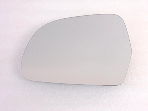 Quattro Driver Mirror Glass - HEATED Mirror Glass for AUDI A3 A4 A5 A6 A8 S5 S6 S8 Q3 Driver Side View Left LH