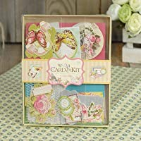AsianHobbyCrafts ScrapBook Kit by Eno Greeting (SCC003): Contents: scrapbbok, Chipboard Sheet