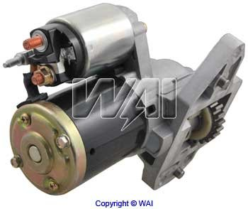 17947N - 1.4kW/12 Volt, CCW, 22-Tooth Pinion|Mitsubishi OSGR|MFR:MITSUBISHI|DESIGN:OSGR|VOLTAGE:12|KW:1.4|ROTATION:CCW|TEETH:22
