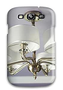 Protection Case For Galaxy S3 Case Cover For Galaxy Brass Lampshade Chandelier