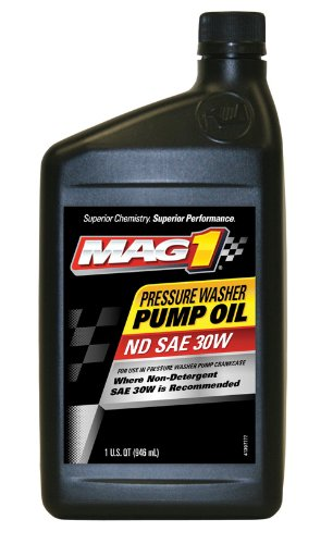 Mag 1 (60694-6PK Pressure Washer Pump Oil - 1 Quart, (Pack of ()