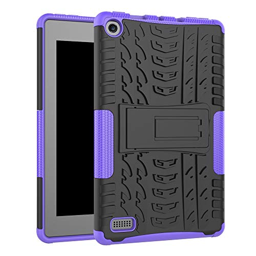 Protective Case by Fenebort, Shock Hybrid Case with Stand Cover Case Compatible Amazon Kindle Fire HD 7,7 - Kindle Generation In Trade 4th