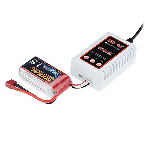 GoolRC B3 AC 2S 3S Compact Lipo Battery Charger for RC Quadcopter RC Car