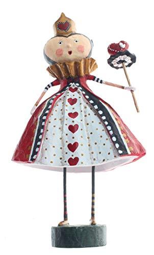 Lori Mitchell Queen of Hearts Figurine from Alice in Wonderland 8