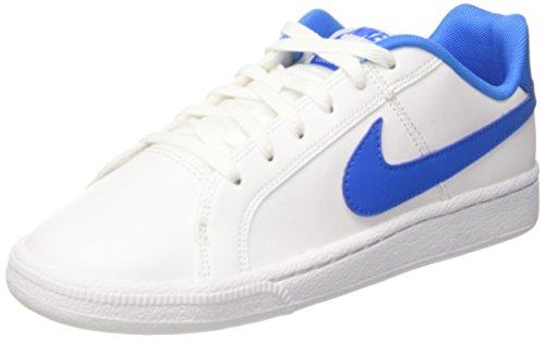 Nike Jungen Court Royale (GS) Turnschuhe Weiß (White/photo Blue)