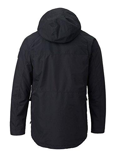 Apparel Burton Insulated Jackets (Burton Men's Breach Jacket, True Black/True Black Wax, Large)