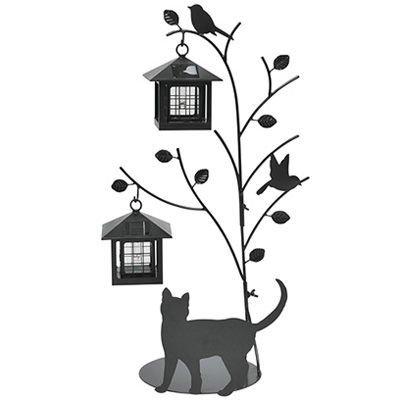 セトクラフト シルエットソーラー(Tree&Cat)2灯 SI-1956-1300 B06XC234MH 10308