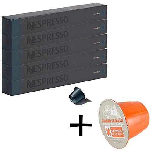 (유익 세트/세제 샘플1 개부착) NESPRESSO 네스프레소 캡슐 커피 달 강 1개 10캡슐x5개 세트
