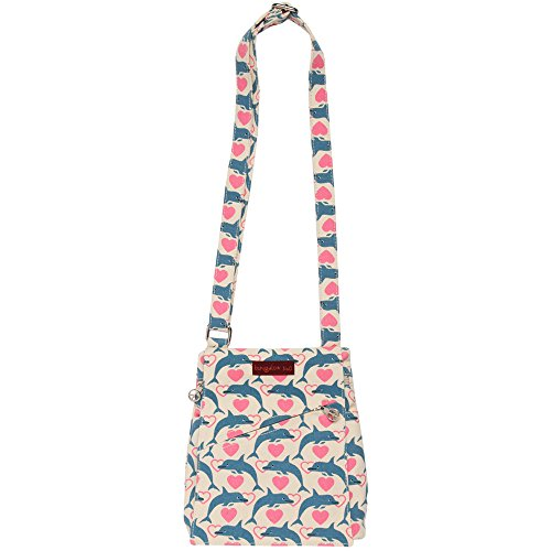 Price comparison product image Bungalow360 Women's Accessories - Dolphin Pattern Collection (Small Messenger)